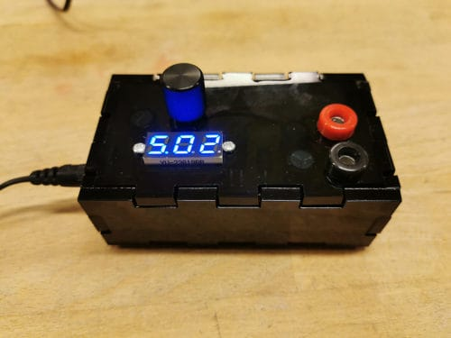Finished power supply