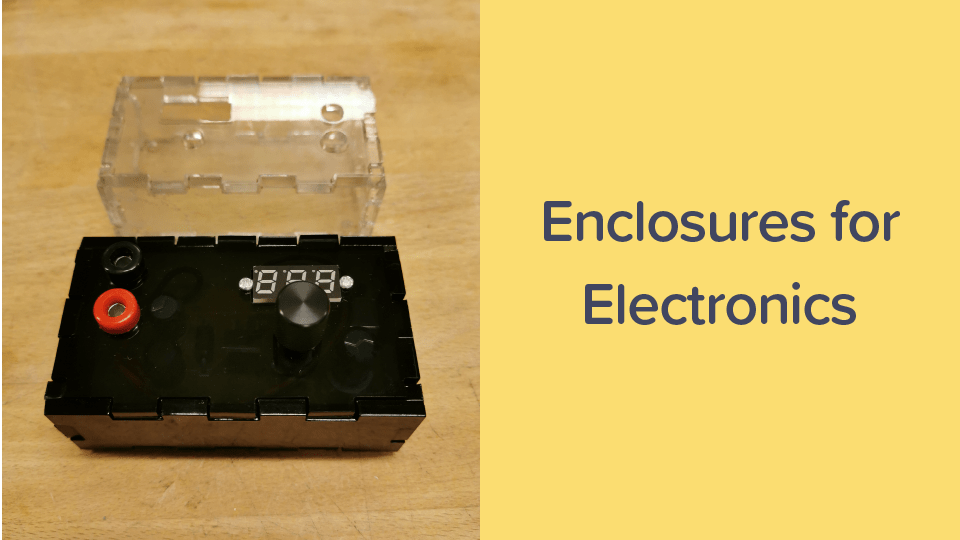 Enclosures for electronics cover